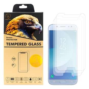 محافظ صفحه نمایش گلدن ایگل مدل GLC-X3 مناسب برای گوشی موبایل سامسونگ Galaxy J5 Pro بسته سه عددی