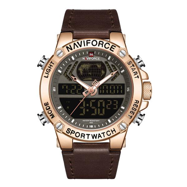 ساعت مچی عقربه ای مردانه نیوی فورس مدل NF9164 RGBDBN