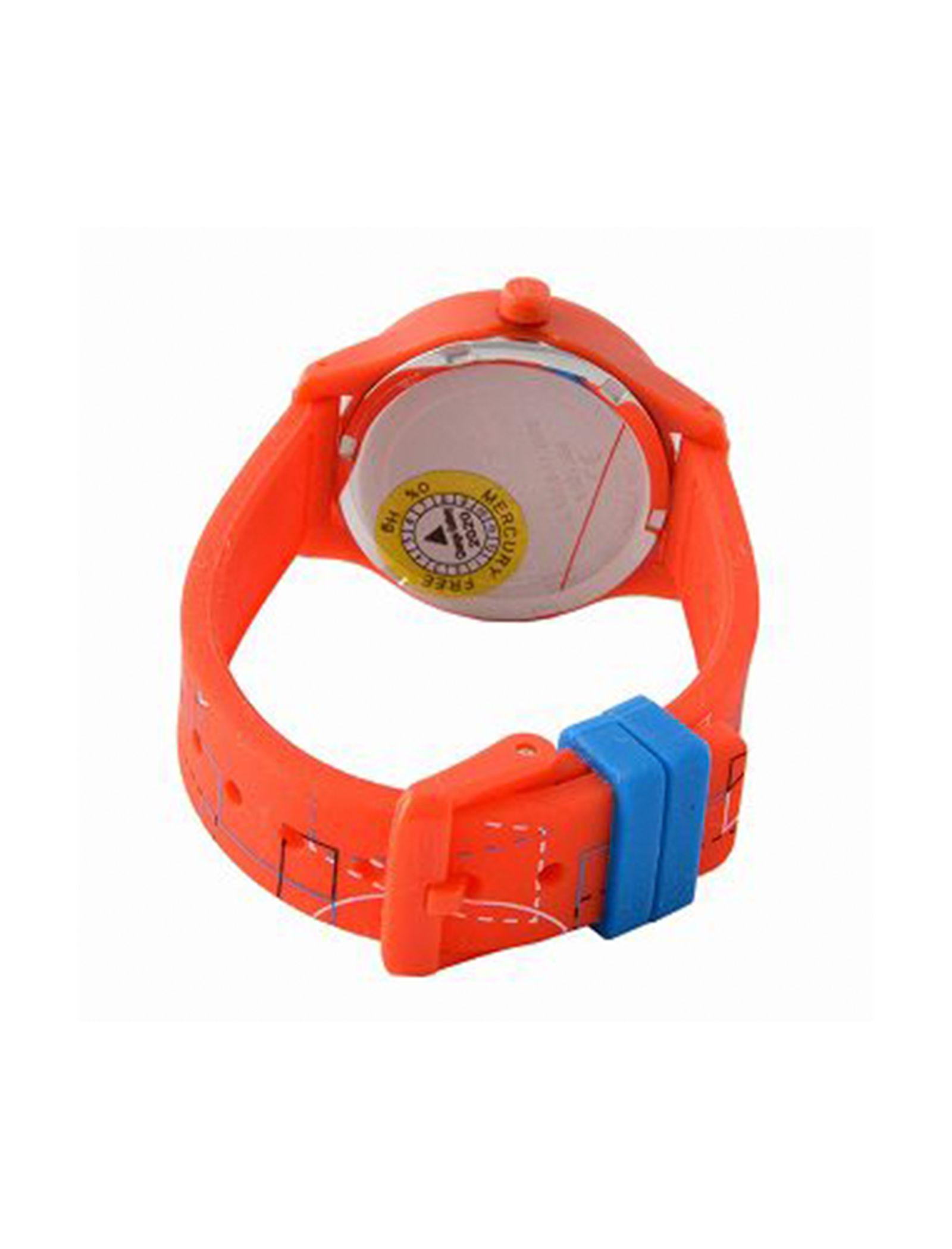ساعت مچی عقربه ای بچگانه لاگوست مدل 2030010 - نارنجی - 3