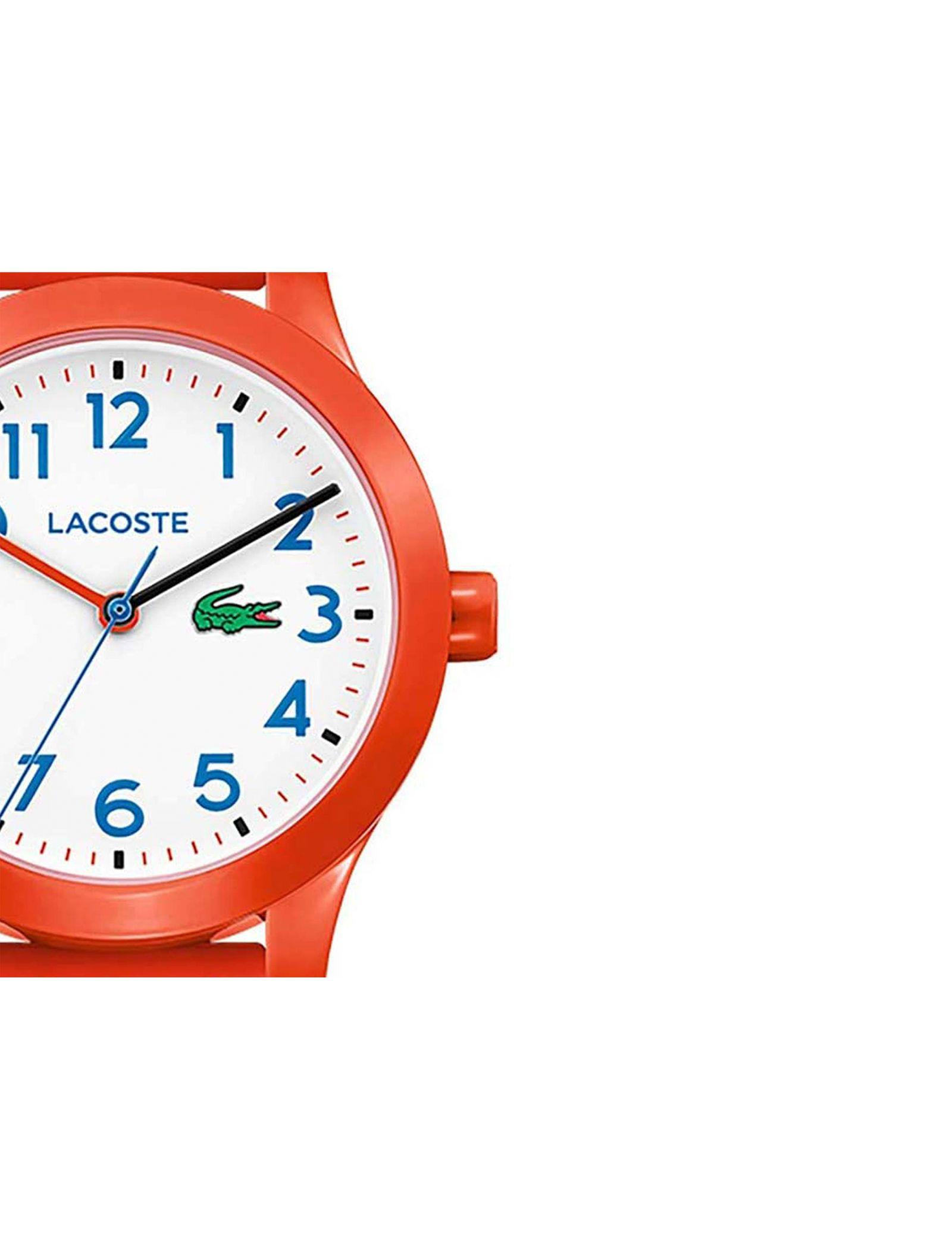 ساعت مچی عقربه ای بچگانه لاگوست مدل 2030010 - نارنجی - 4