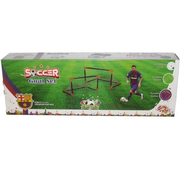 دروازه بازی فوتبال مدل SOCCER Goal Set