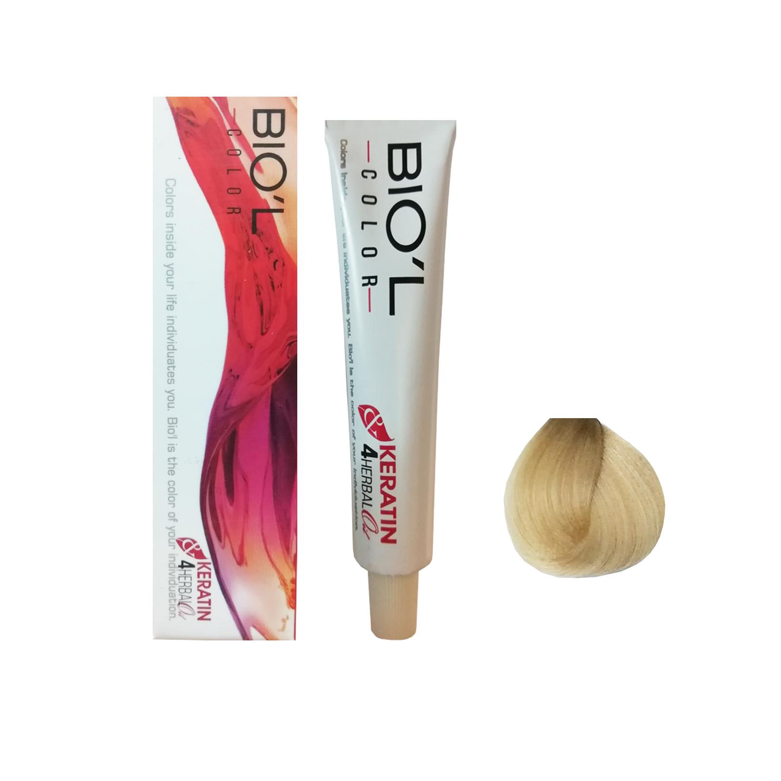 رنگ مو بیول شماره 0023 حجم 15 میلی لیتر رنگ بلوند بژ روشن