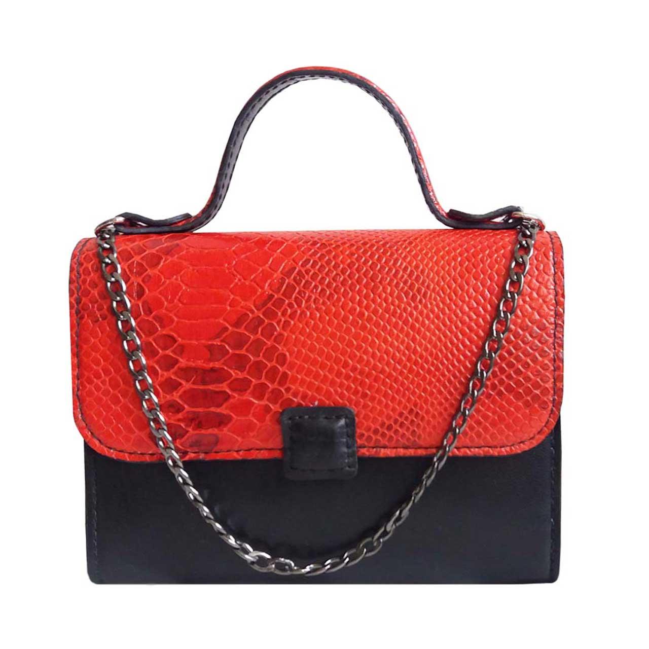 کیف دستی چرمی مژی مدل MM 21