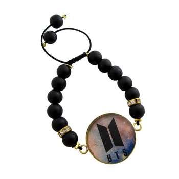 دستبند زنانه طرح BTS کد 1006