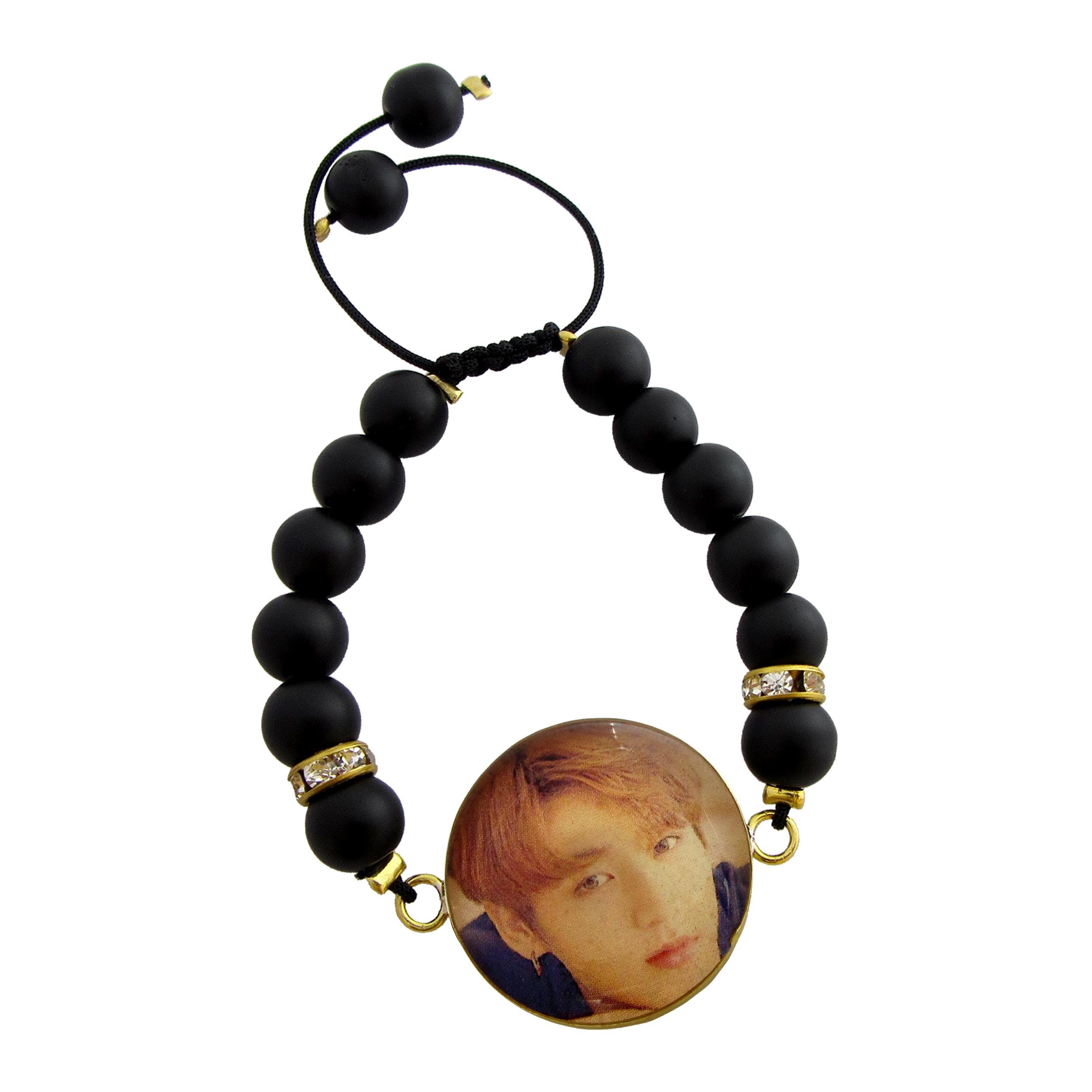 دستبند زنانه طرح BTS - Jungkook کد 1013
