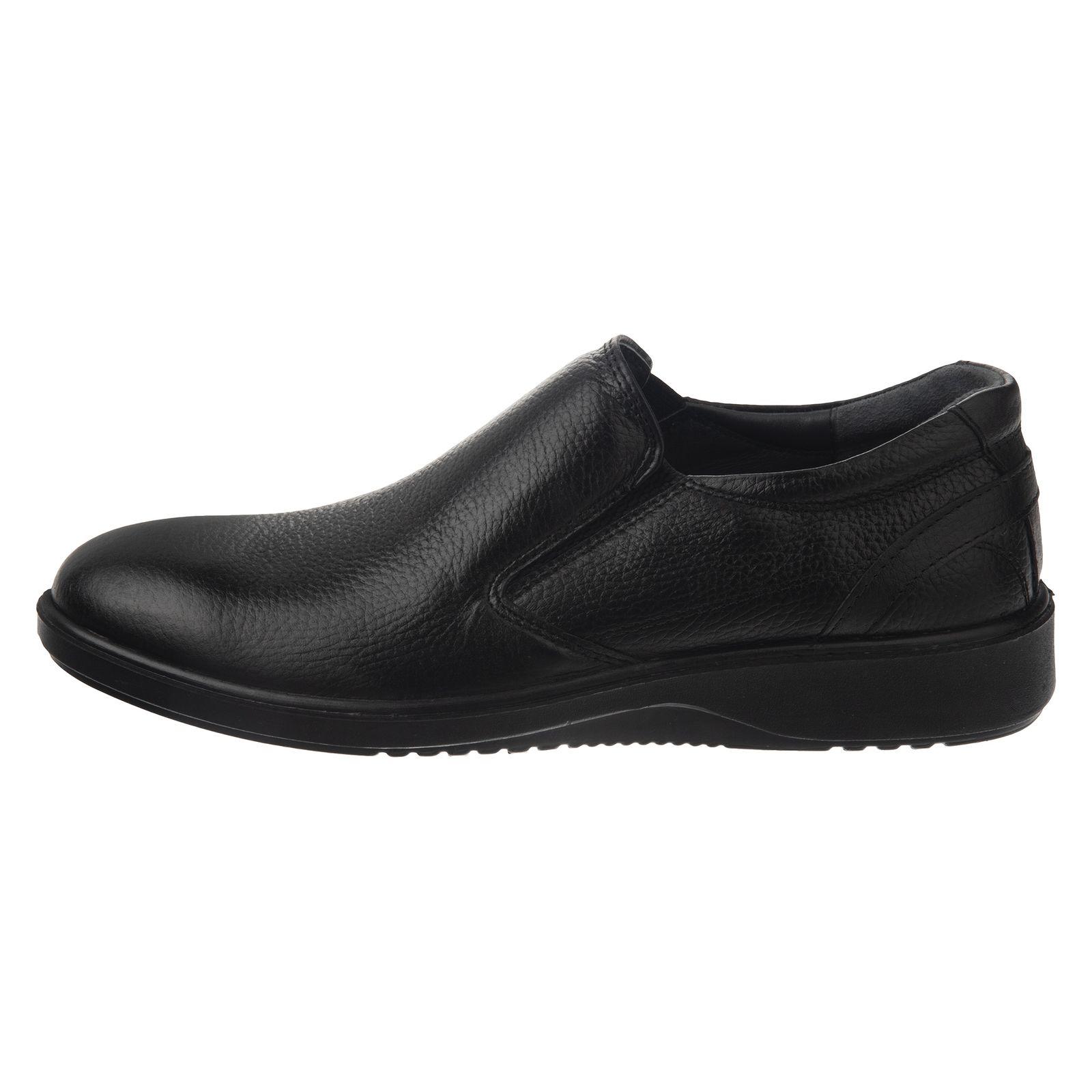 کفش روزمره مردانه شیفر مدل 7216A-101 - مشکی - 2