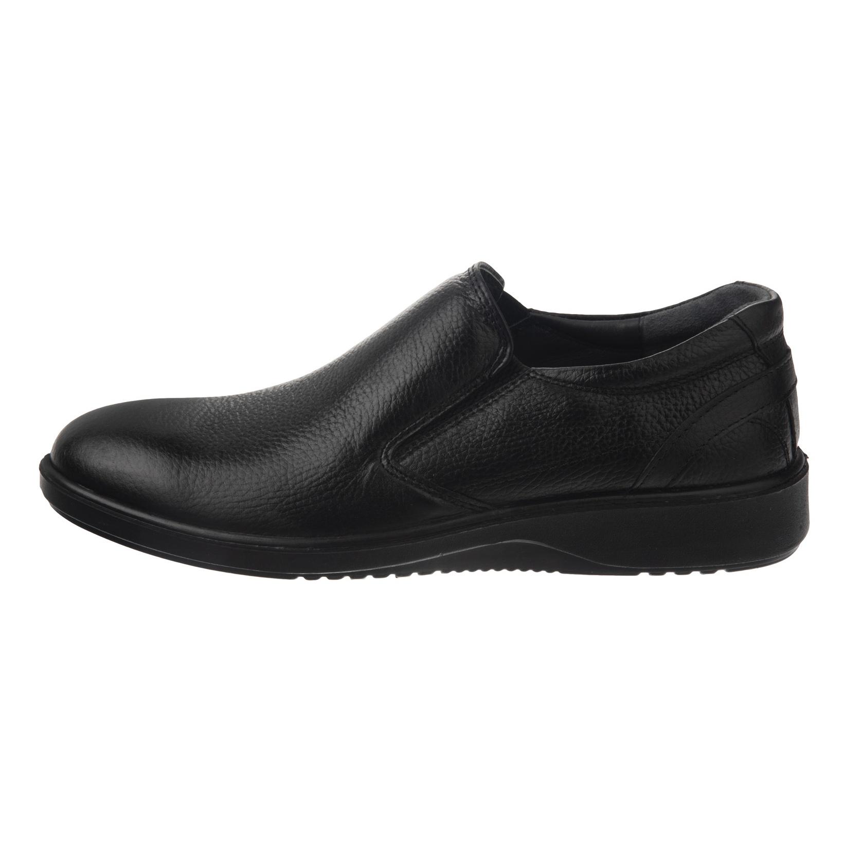 کفش روزمره مردانه شیفر مدل 7216A-101 - مشکی - 3
