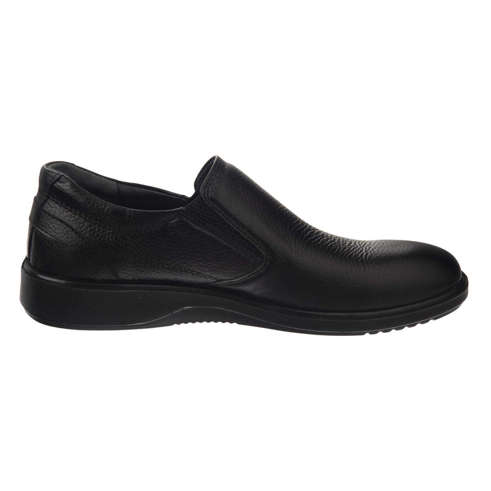 کفش روزمره مردانه شیفر مدل 7216A-101 - مشکی - 4
