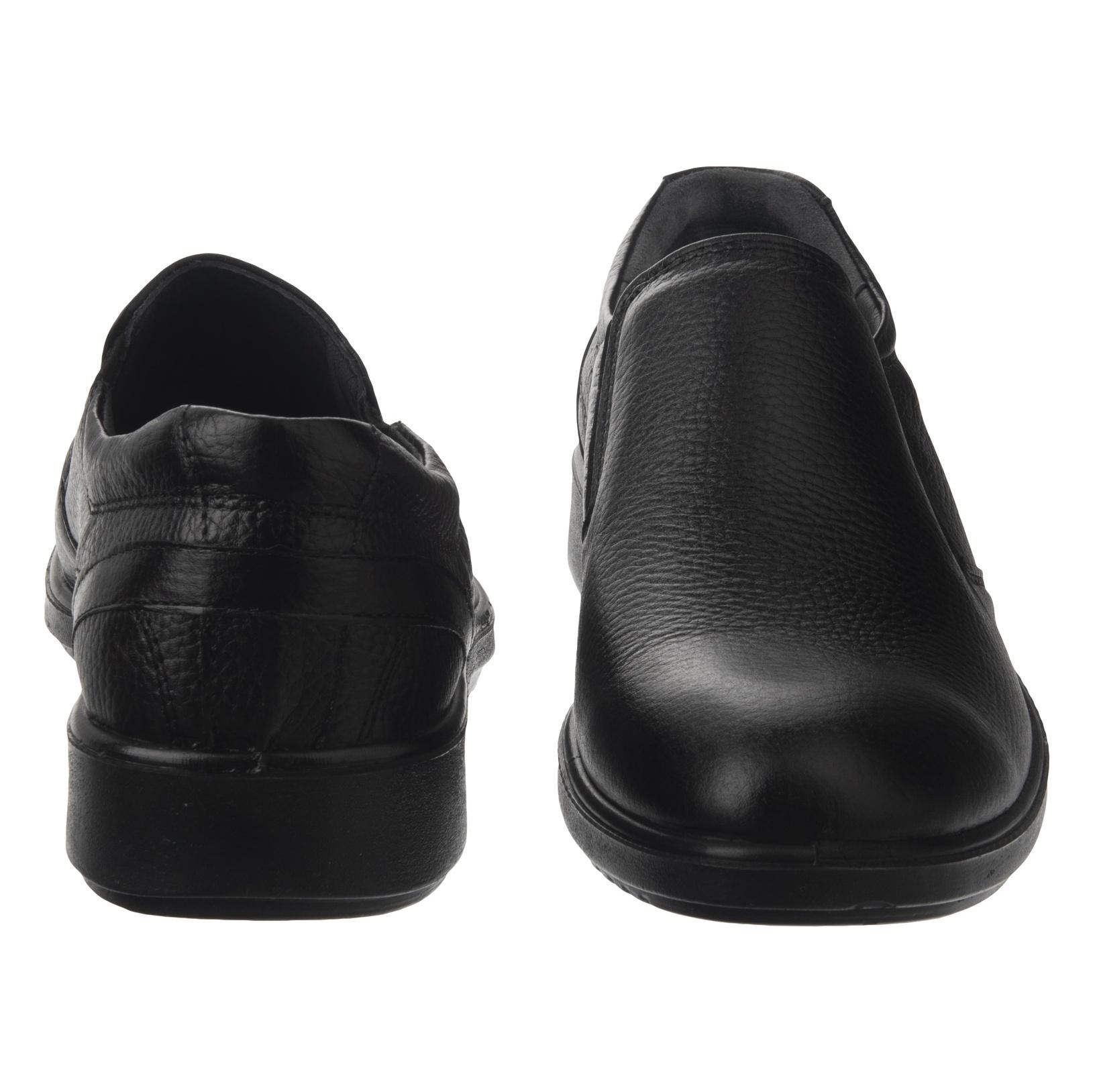 کفش روزمره مردانه شیفر مدل 7216A-101 - مشکی - 6