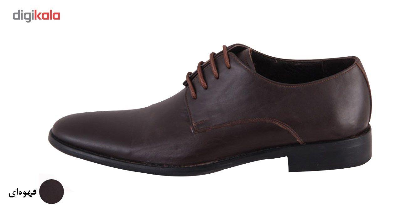کفش مردانه شهرچرم مدل 3-291078 -  - 2