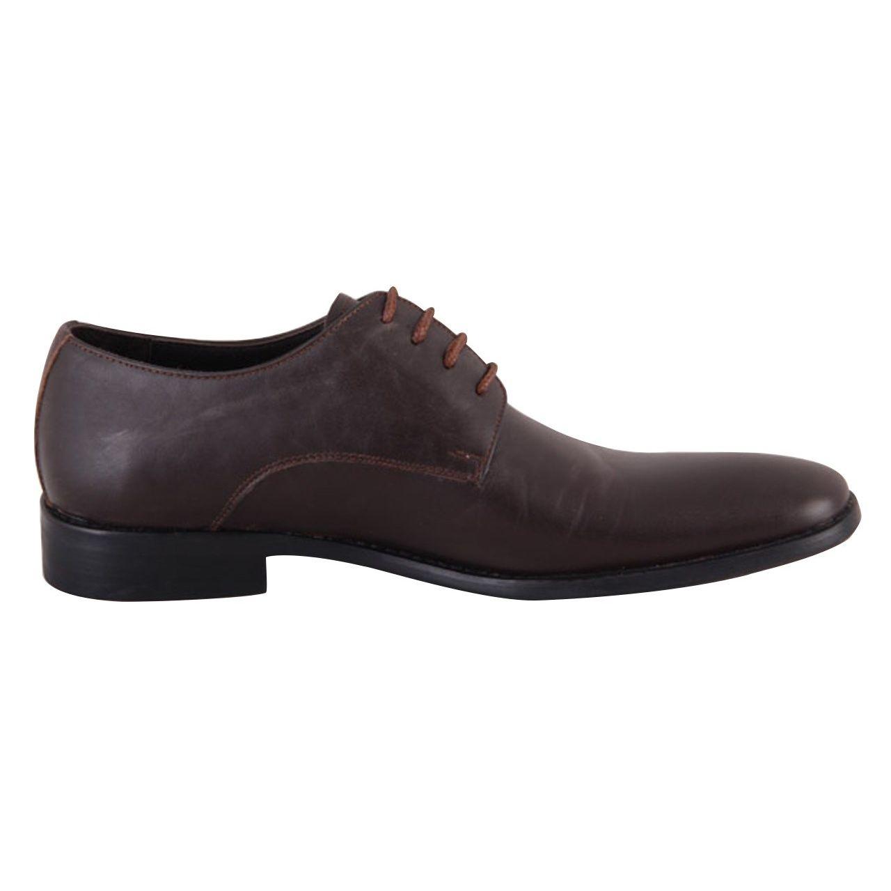 کفش مردانه شهرچرم مدل 3-291078 -  - 5