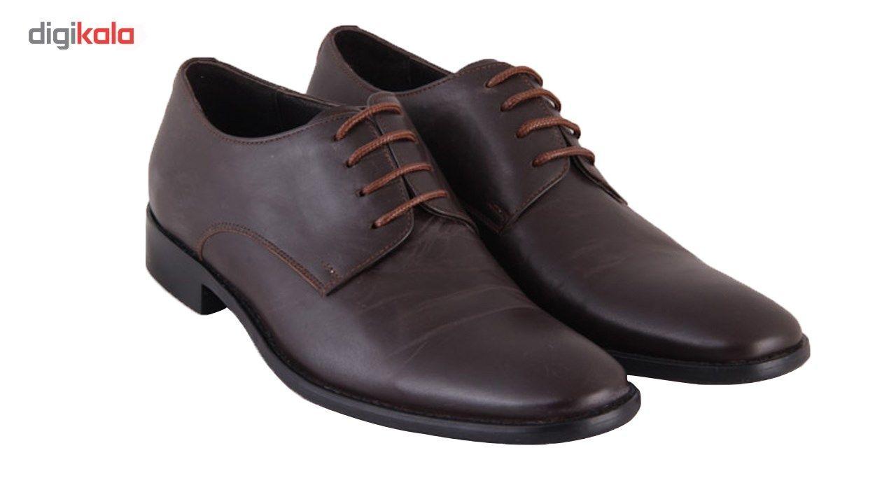 کفش مردانه شهرچرم مدل 3-291078 -  - 4