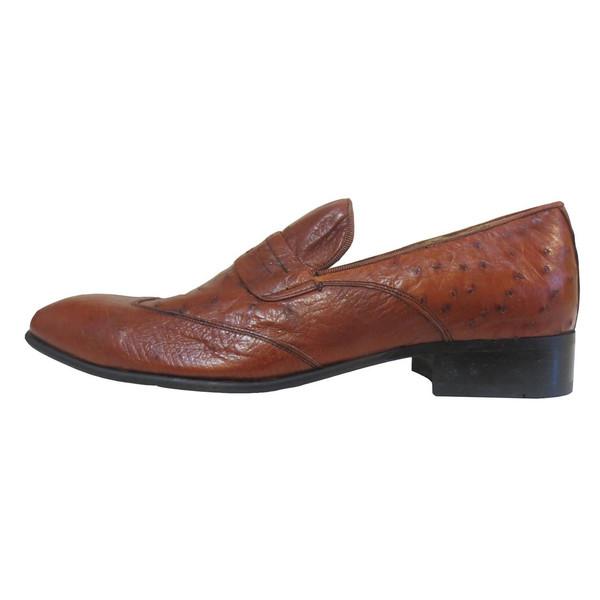 کفش رسمی  مردانه چرم آلین مدل  MM1