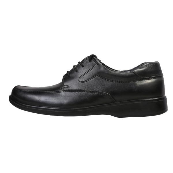 کفش چرمی ترن مدل لایتر بندی کد 2007