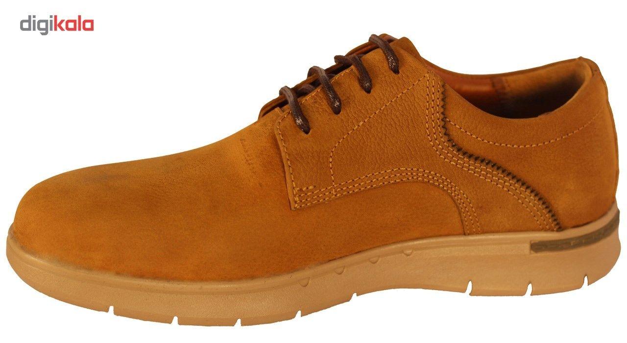 کفش مردانه چرم طبیعی  ژست مدل 1014 -  - 5