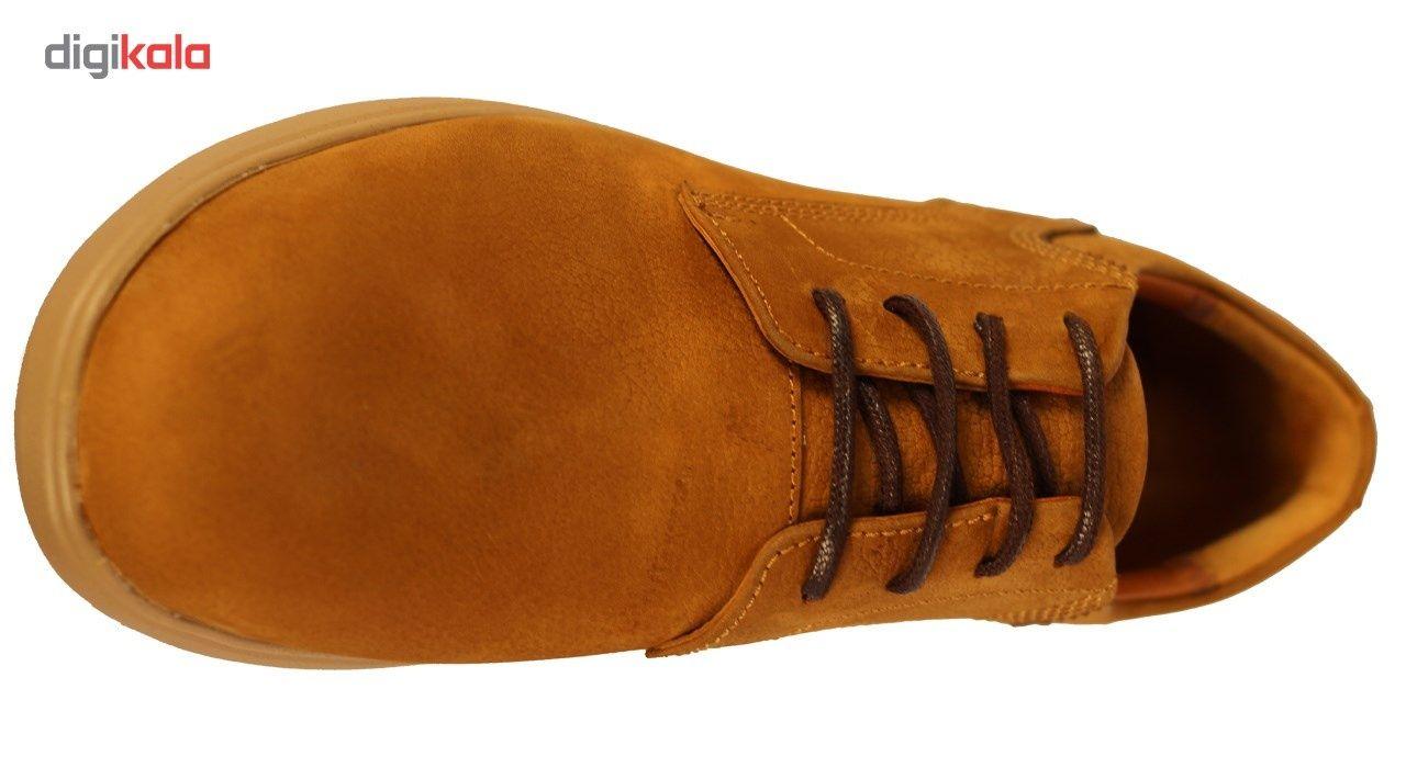 کفش مردانه چرم طبیعی  ژست مدل 1014 -  - 6