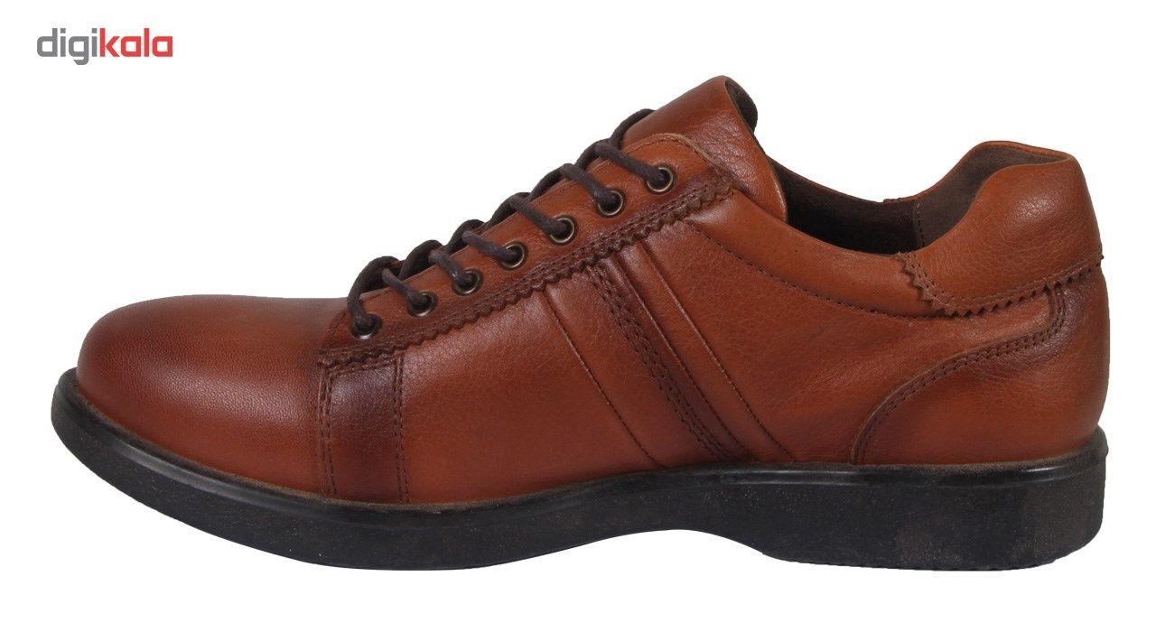 کفش مردانه شهر چرم مدل 6-39298 -  - 4