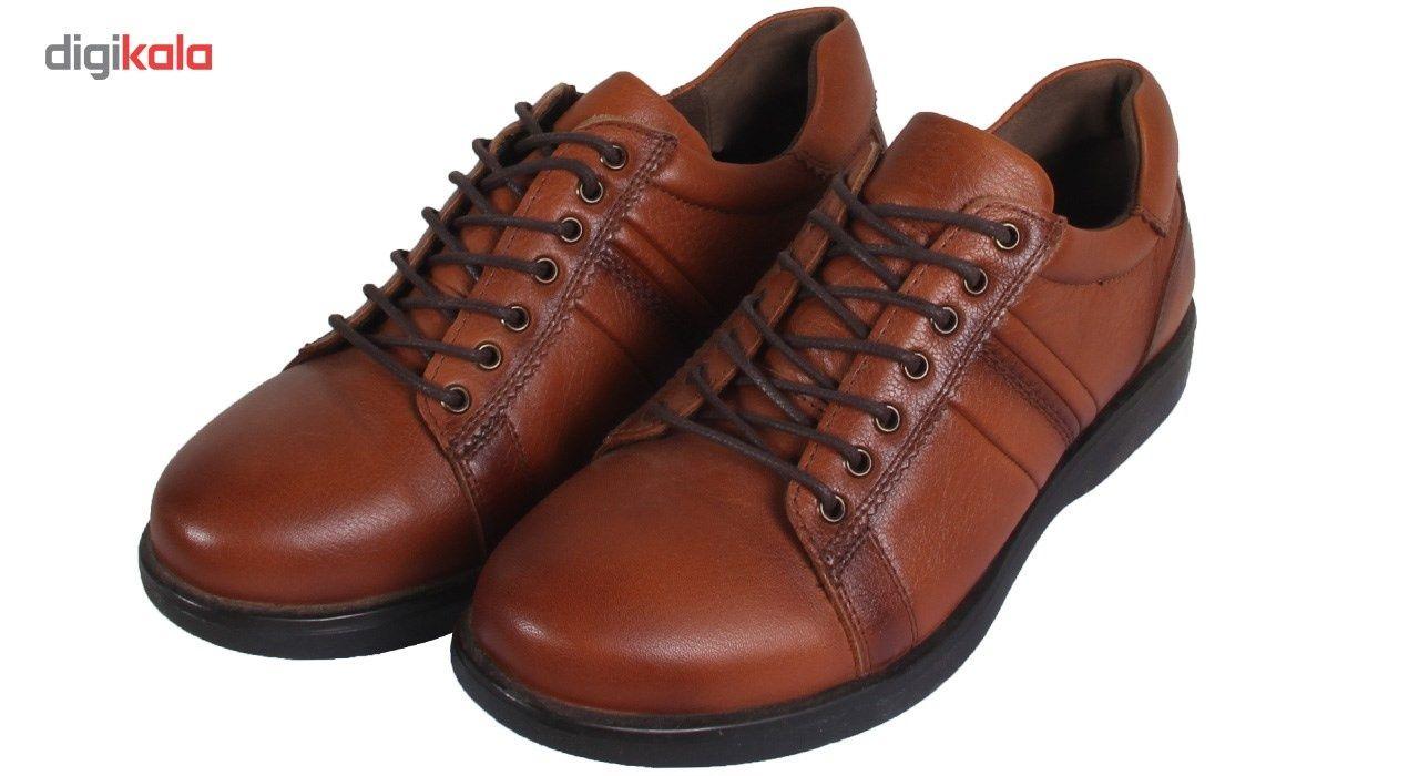 کفش مردانه شهر چرم مدل 6-39298 -  - 5