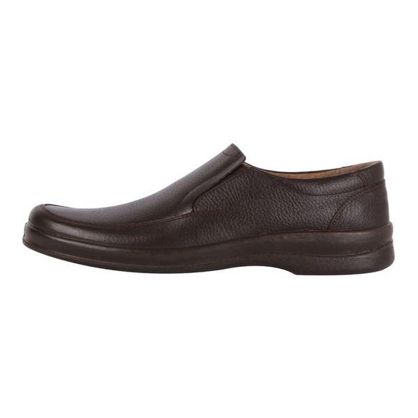 کفش چرم مهاجر مردانه مدل M5gh