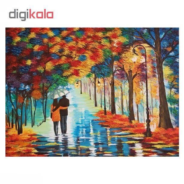 خرید                      تابلو نقاشی رنگ روغن طرح پاییز کد P22