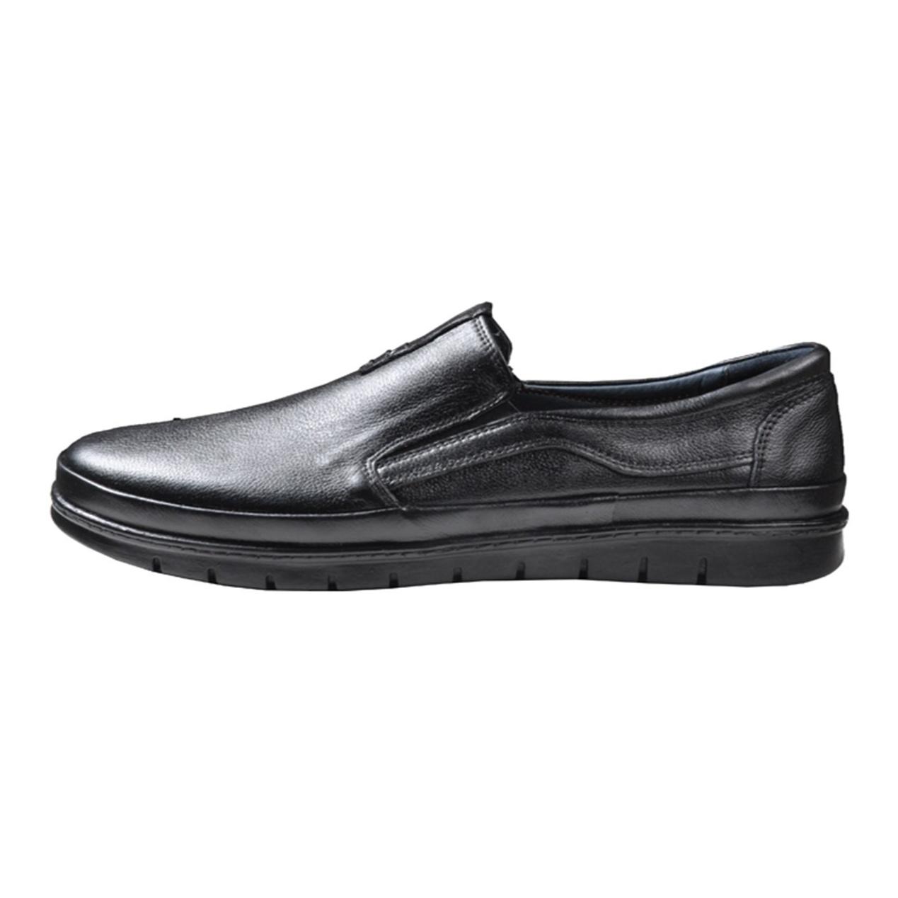 کفش چرم مردانه آریوان مدل AR104 M