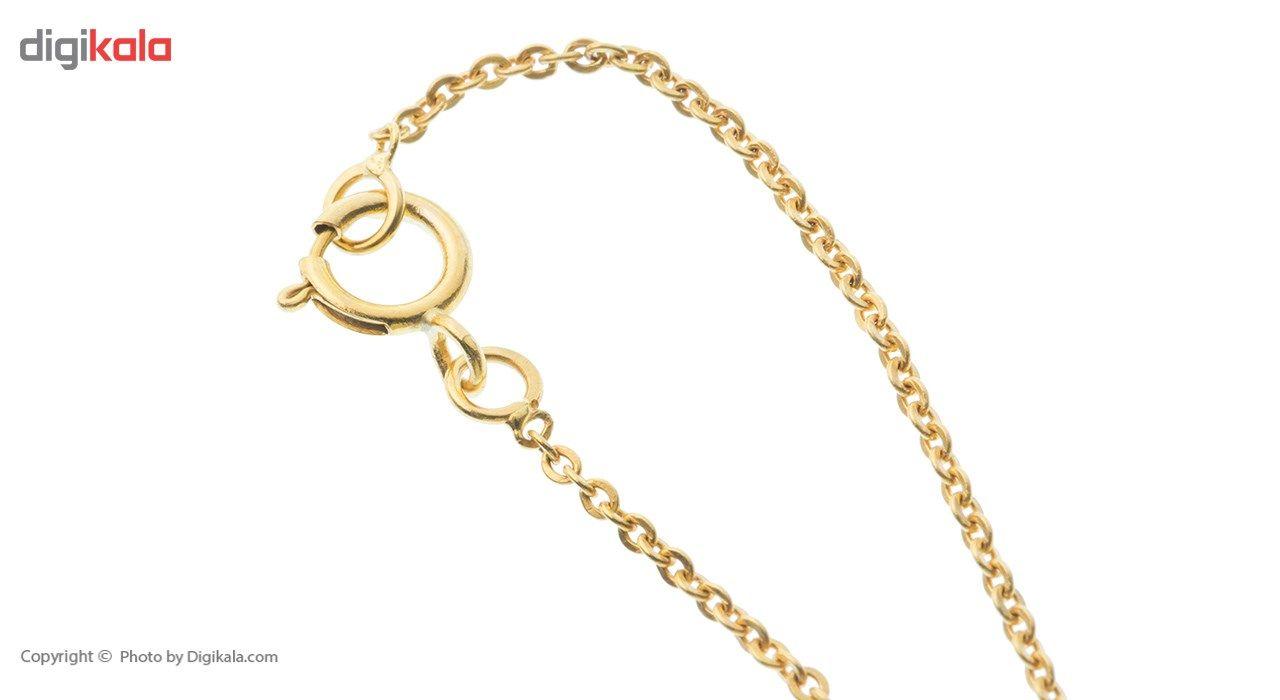 آویز ساعت طلا 18 عیار ماهک مدل MW0072 -  - 1