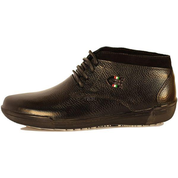 کفش مردانه چرم طبیعی ژست مدل1081