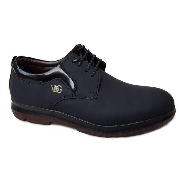 کفش مردانه چرم طبیعی دیاکو مدلMSL-BARSELON-BLACK
