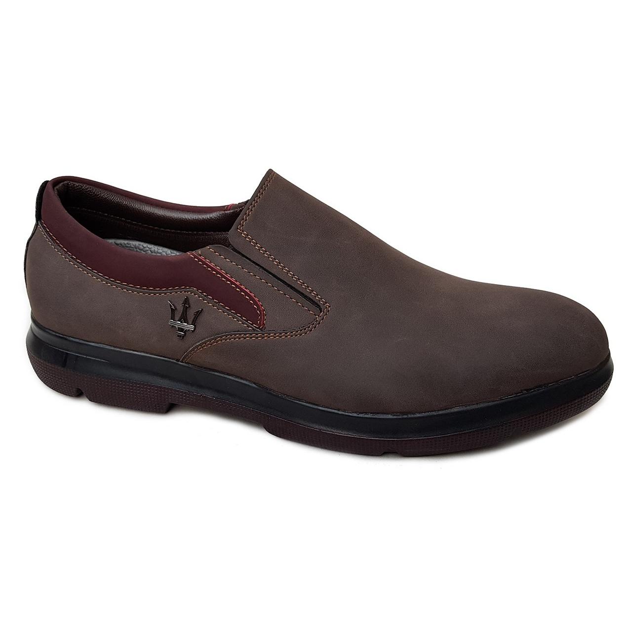 کفش مردانه چرم طبیعی دیاکو مدلMSL-BARSELON-K-BROWN
