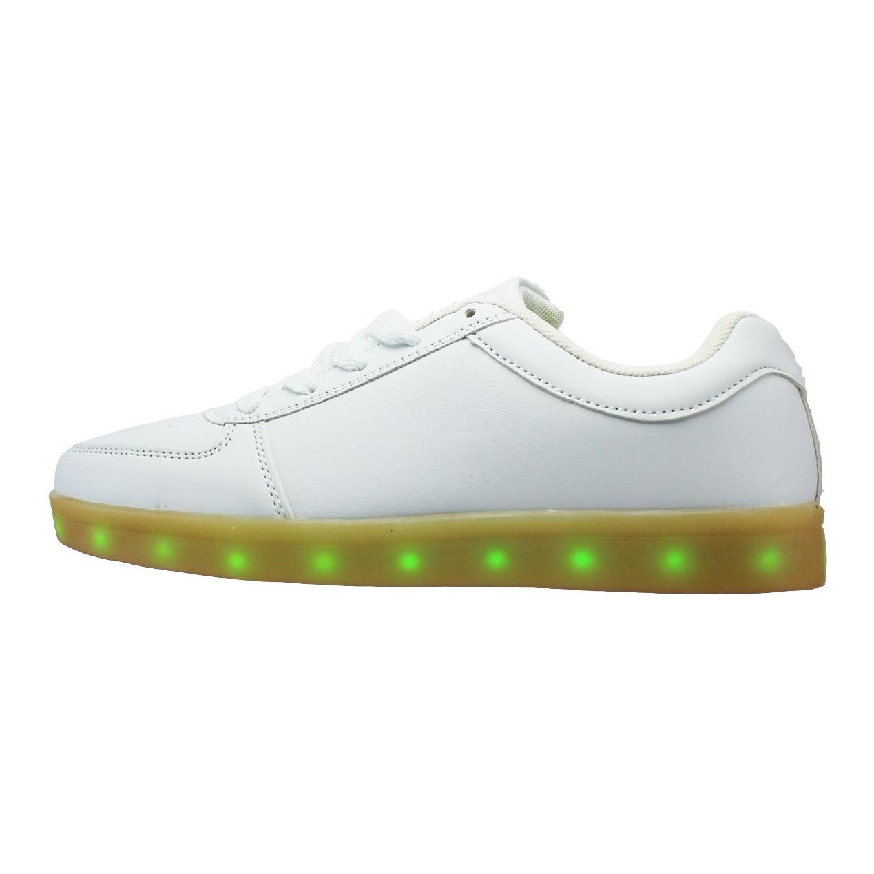 کفش راحتی چراغدار مردانه مدل light shoes