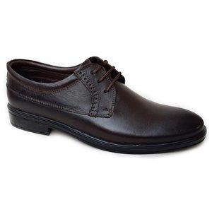 کفش مردانه چرم طبیعی دیاکو مدلMSL-KERAL-BROWN