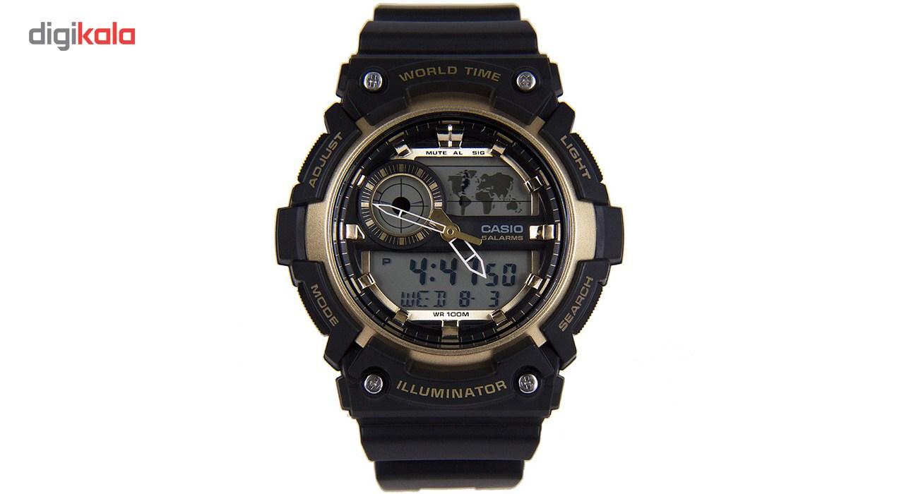 خرید ساعت مچی عقربه ای مردانه کاسیو مدل AEQ-200W-9AVDF | ساعت مچی