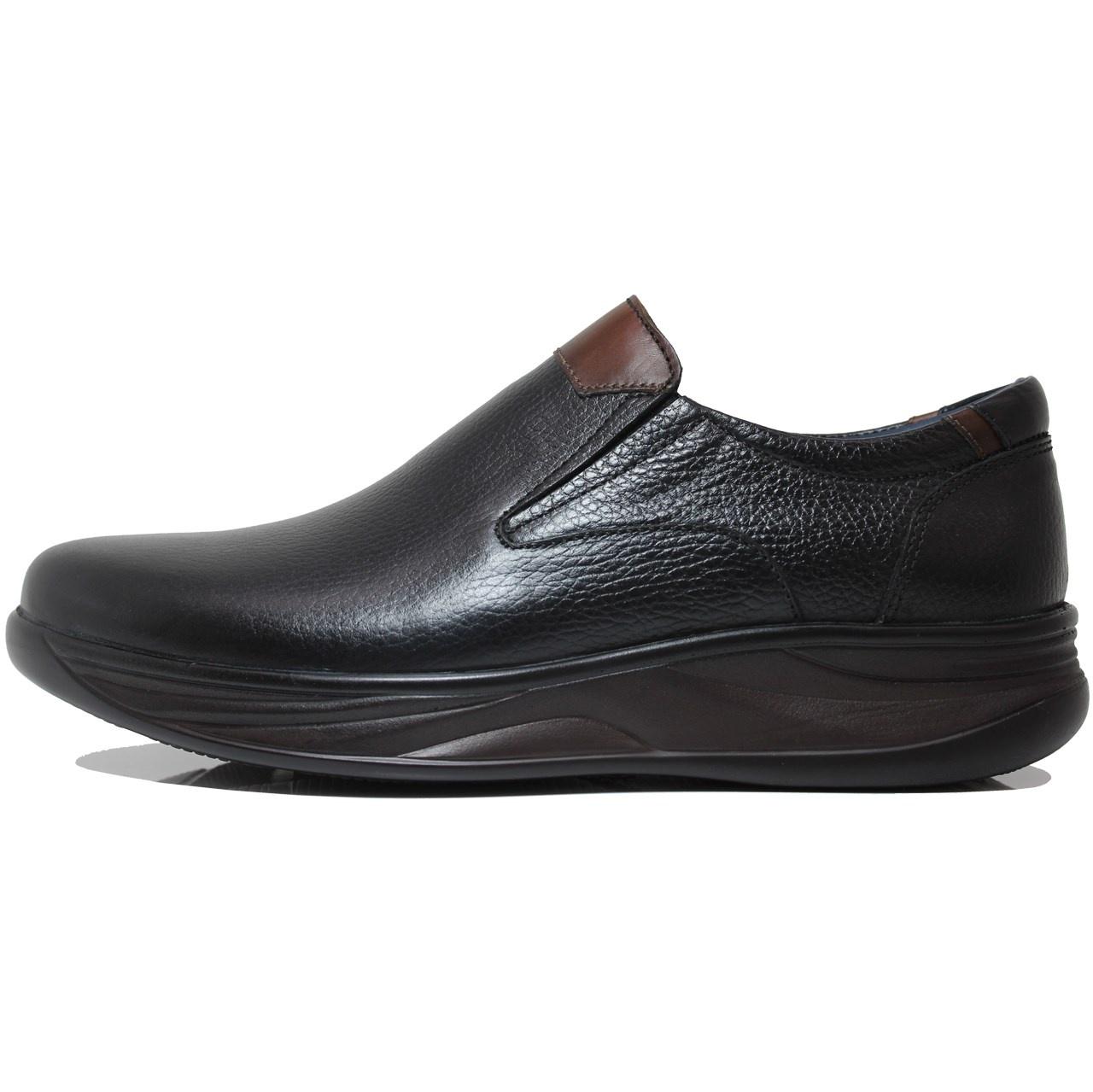 کفش مردانه چرم طبیعی ژست مدل 2041