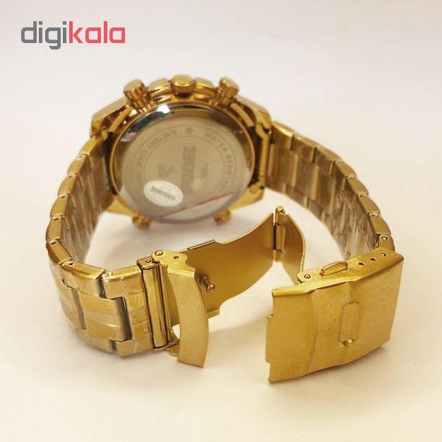 ساعت مچی عقربه ای مردانه اسکمی مدل  gl - 1302              ارزان