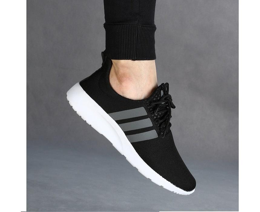 خرید                      کفش ورزشی مردانه سه خط مشکی مدل rzai