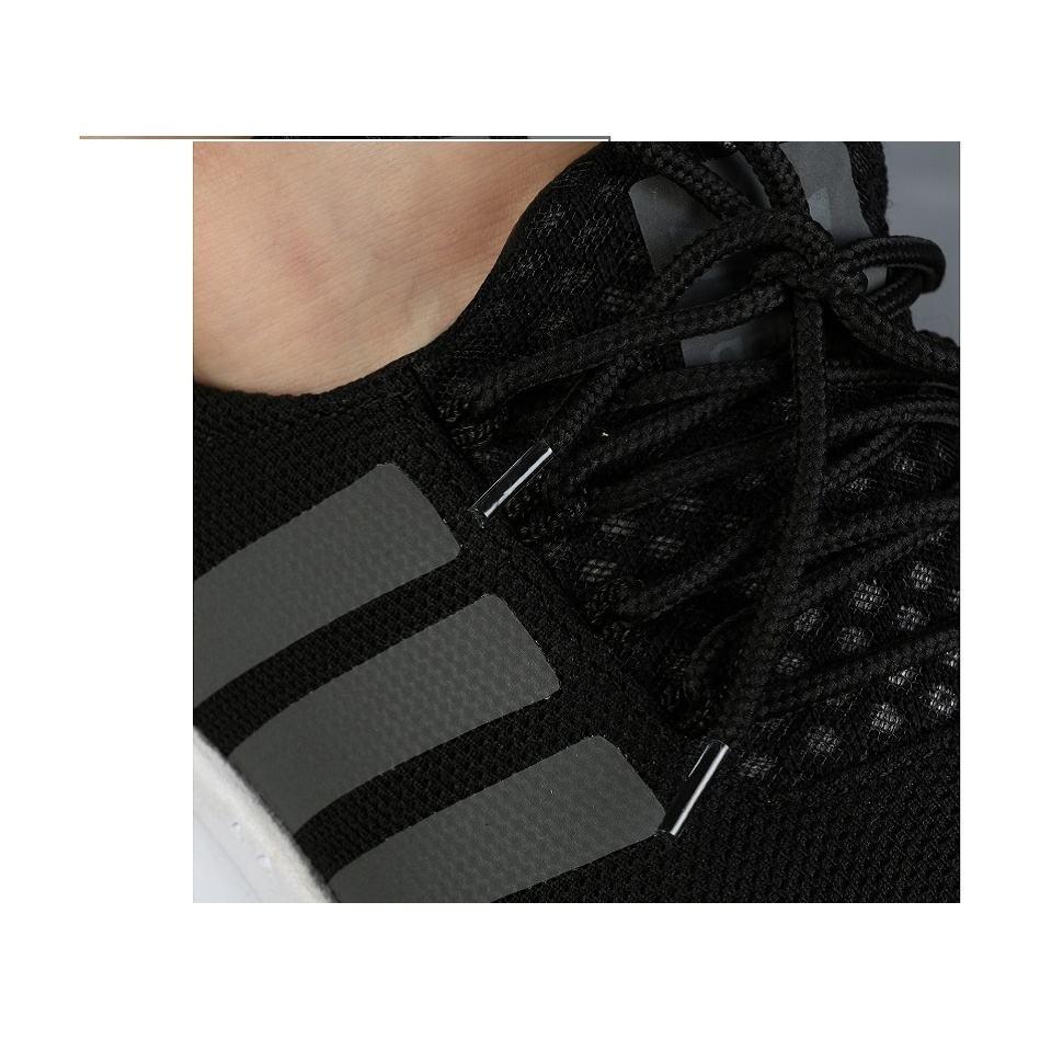 کفش ورزشی مردانه سه خط مشکی مدل rzai main 1 5