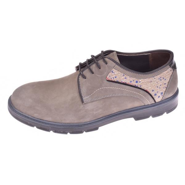 کفش مردانه پانیسا مدل Lace 144Grey