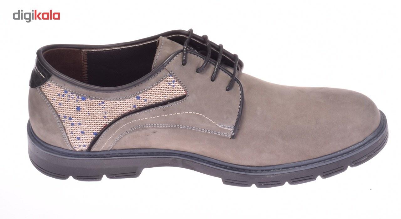 قیمت خرید کفش مردانه پانیسا مدل Lace 144Grey اورجینال