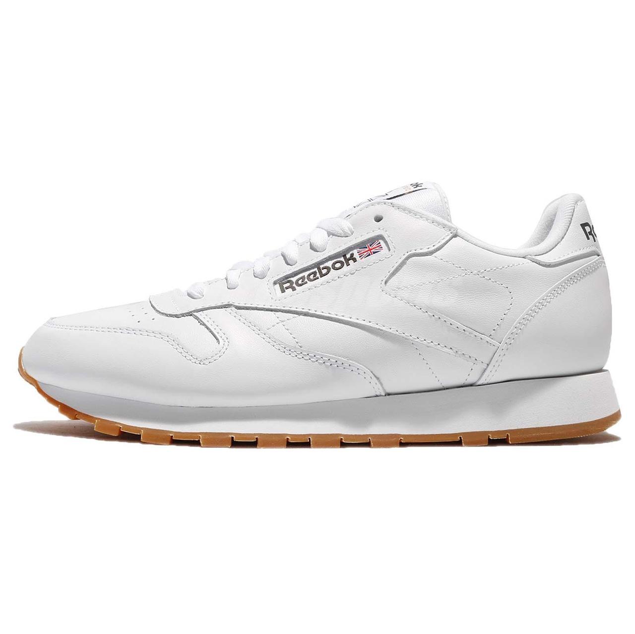 فروش                     کفش مخصوص دویدن مردانه ریباک مدل Classic Leather White/Gum