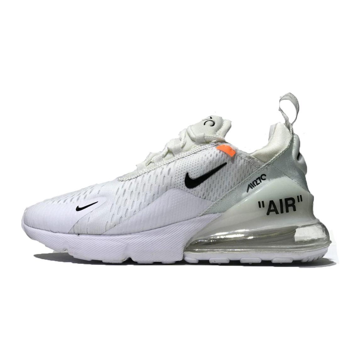 خرید                        کفش راحتی مردانه نایکی مدل airmax270 off white w              👟