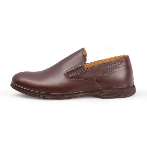 کفش مردانه چرم طبیعی پاندورا مدل m1601 قهوه ای