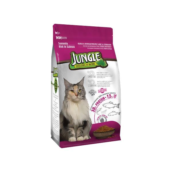 غذا خشک گربه بالغ جانگل مدل S 01 وزن 1.5 کیلوگرم