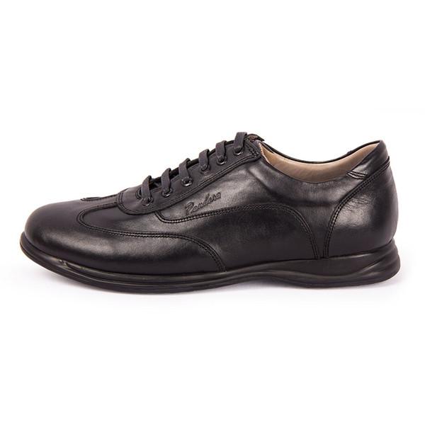 کفش مردانه چرم طبیعی پاندورا مدل M1050 مشکی