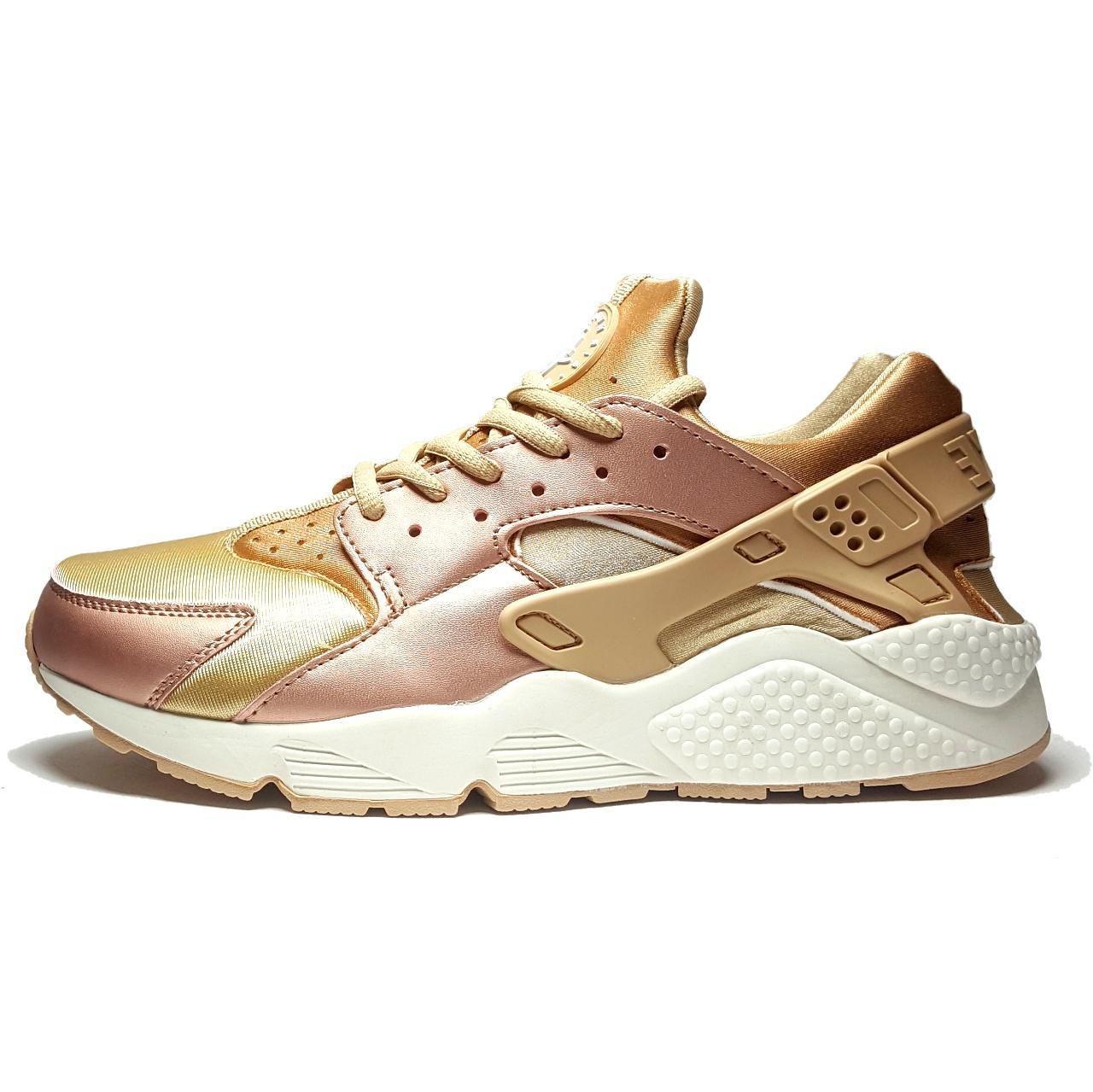 کفش مخصوص دویدن مردانه نایکی مدل Air Huarache Run Se Rose Gold