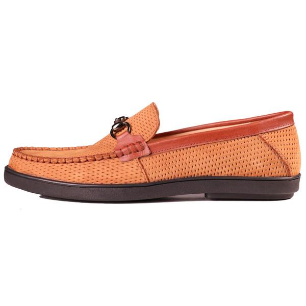 کفش مردانه چرم طبیعی ژاو مدل 1194
