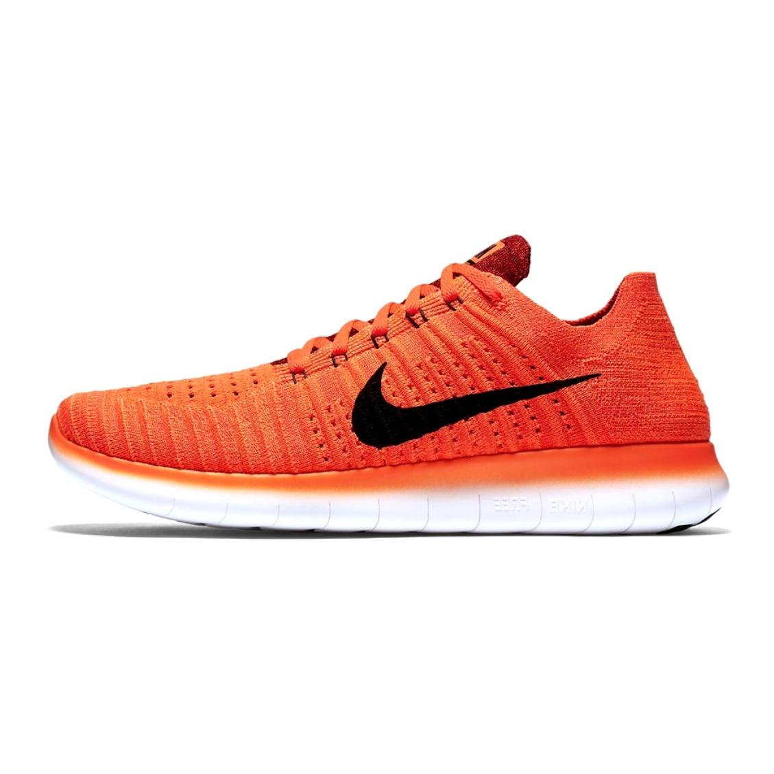 خرید                     کفش راحتی مردانه نایکی مدل Free RN Flyknit Orang
