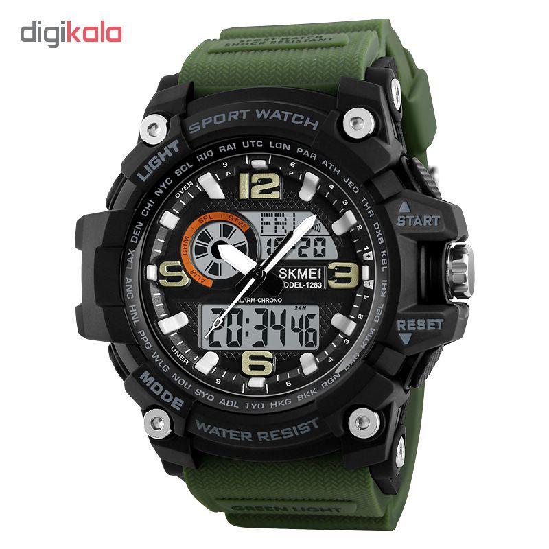 کد تخفیف                                      ساعت مچی دیجیتال مردانه اسکمی مدل 1283