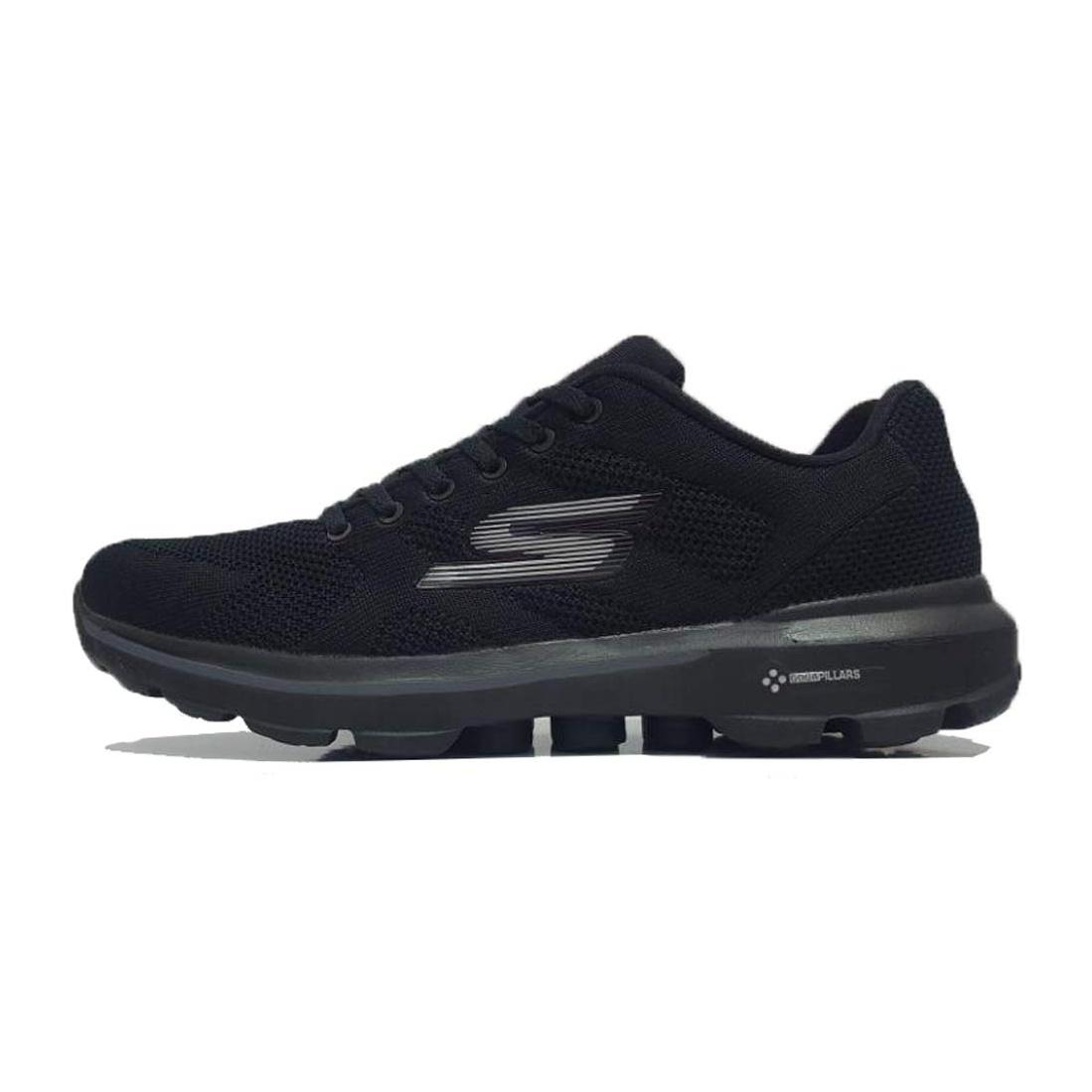 فروش کفش مخصوص پیاده روی مردانه اسکچرز مدل GO WALK 3 PILARS-BLAK