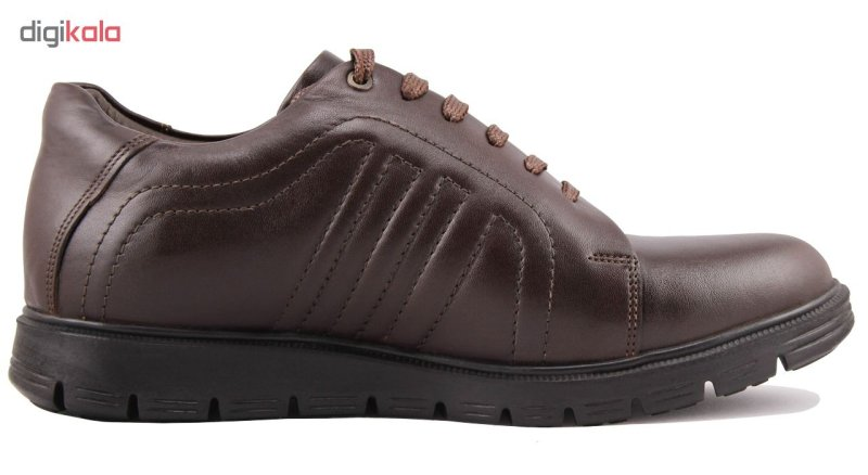 کفش مردانه چرم طبیعی ژاو مدل 1212