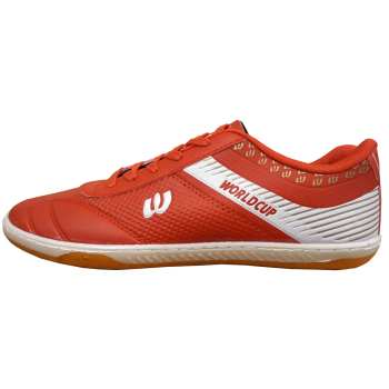 کفش فوتسال مردانه مدل WORLDCUP RED